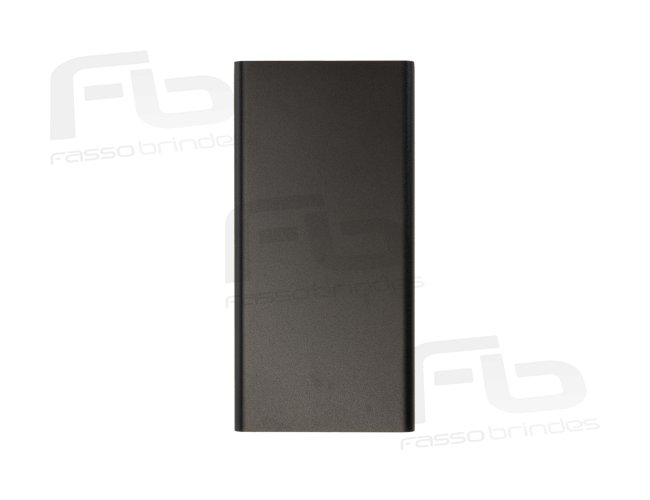 Power bank Metal com Indicador Led